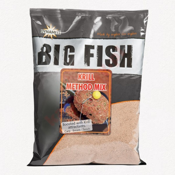 Zanęta Big Fish Krill Method Mix 1,8kg