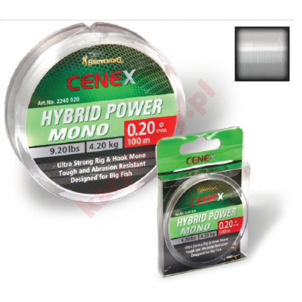 Żyłka cenex hybrid power 0,12 mm