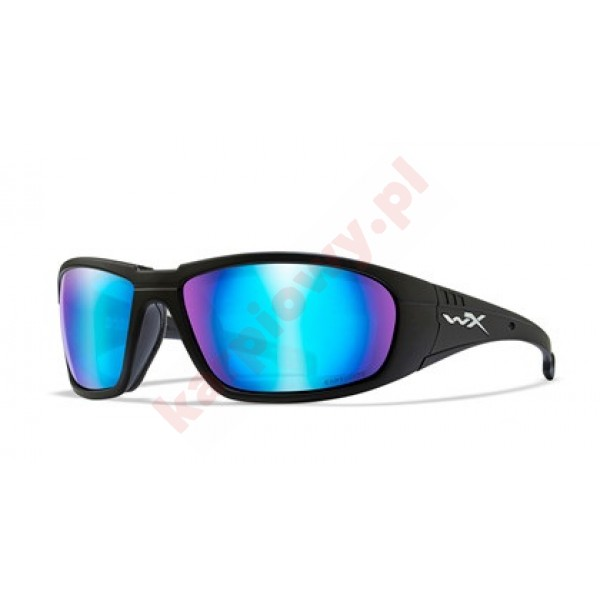 BOSS Captivate Blue Mirror Matte Black Frame