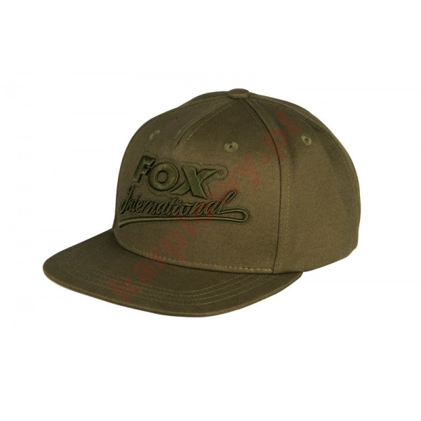 Czapka - khaki college snap back