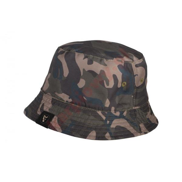 Czapka - khaki/camo reversible bucket hat