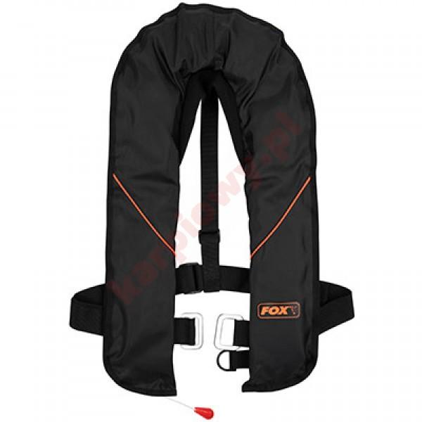 Kamizelka Life Jacket Blsck & Orange