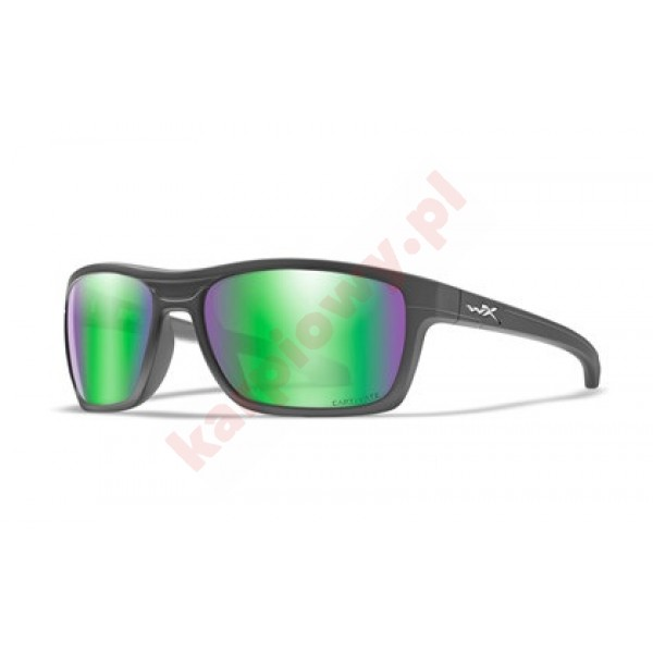 KINGPIN Captivate Green Mirror Matte Graphite Frame