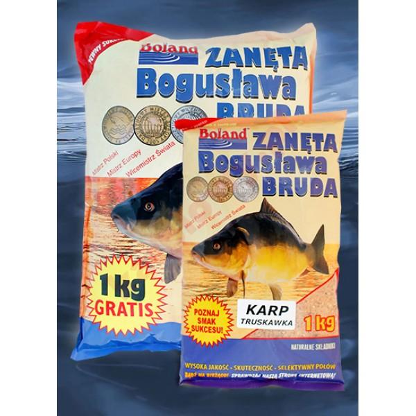Zanęta popularna - karp truskawka 1kg