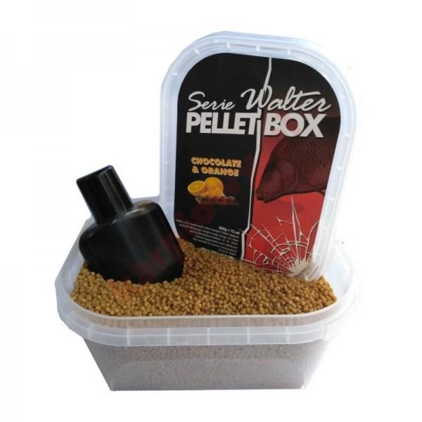 Serie Walter Pellet Box 500g+75ml - Chocolate & Orange
