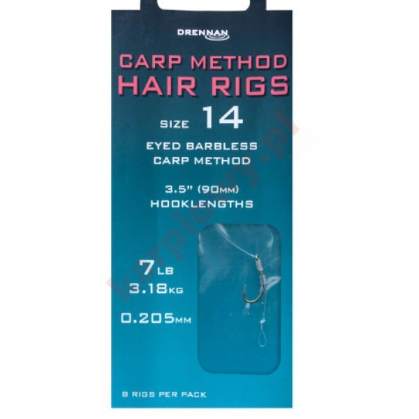 Haczyki Carp MethodHair Rigs10/0.22