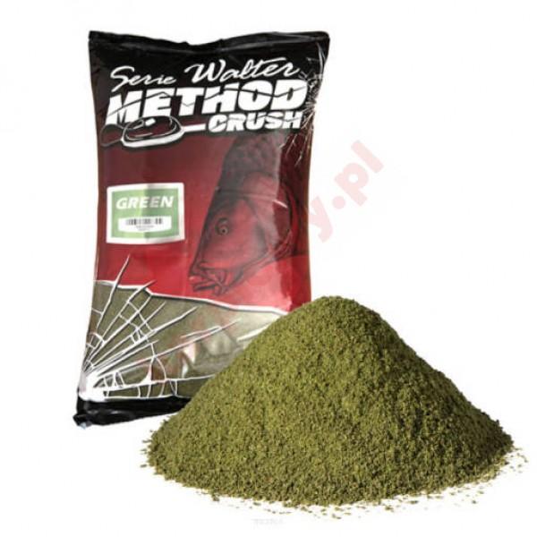Zanęta Walter Method Crush Groundbait 1kg - Green