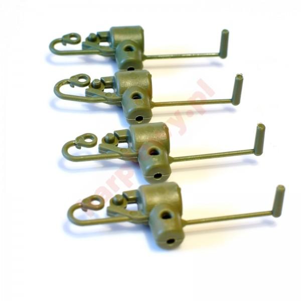 S-line button clip green
