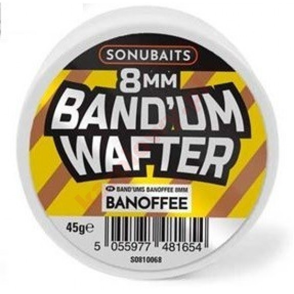 Band'Um Wafters 8mm - Banoffee