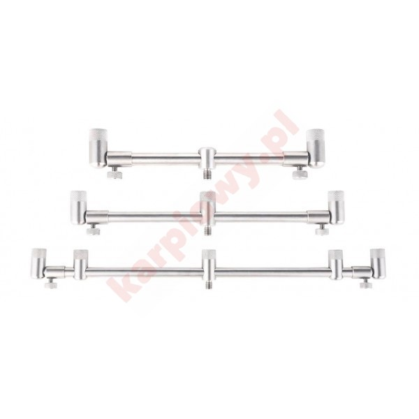 Adjustable stainless steel buzzer bar- 2 rods - 18 - 28 cm