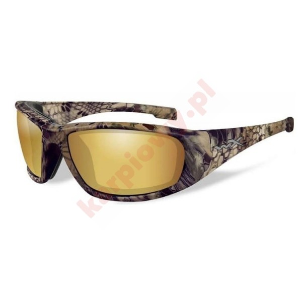 BOSS Polarized Amber Gold Mirror KRYPTEX Frame