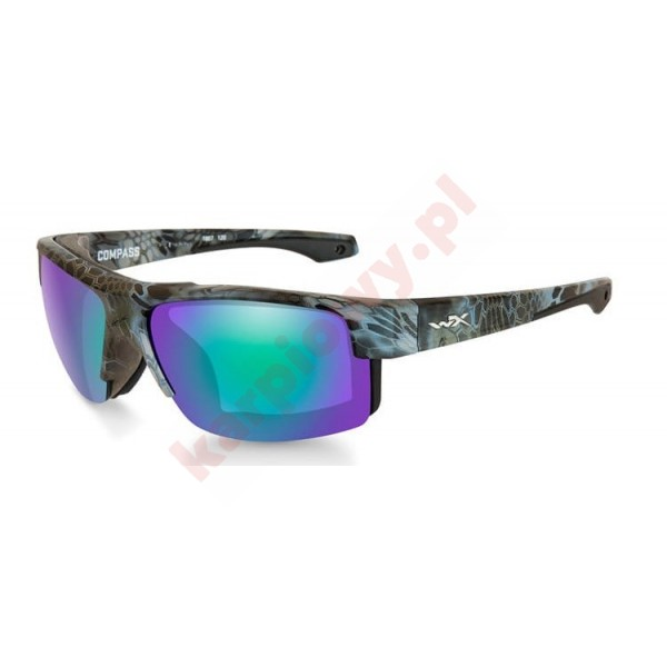 COMPASS Polarized Emerald Mirror Kryptek Neptune Frame