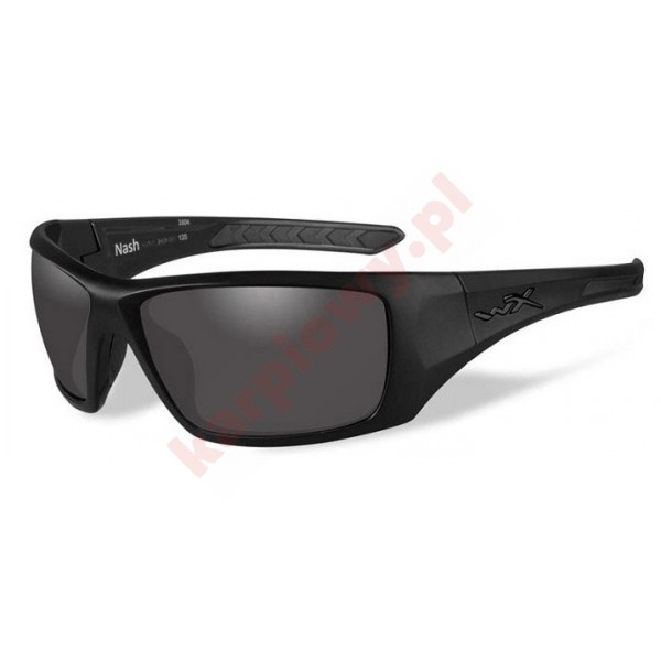 NASH Polarized Smoke Grey Matte Black Frame