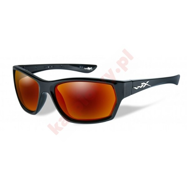 MOXY Polarized Crimson Mirror Gloss Black Frame