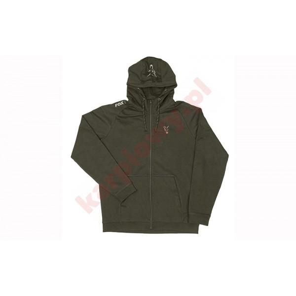 Bluza - collection green & silver lightweight hoodie XXL