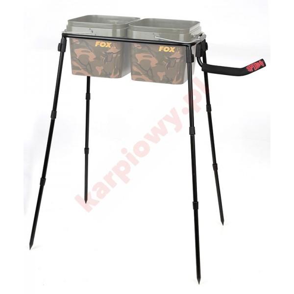 Stojak na wiadro podwójny - double bucket stand kit