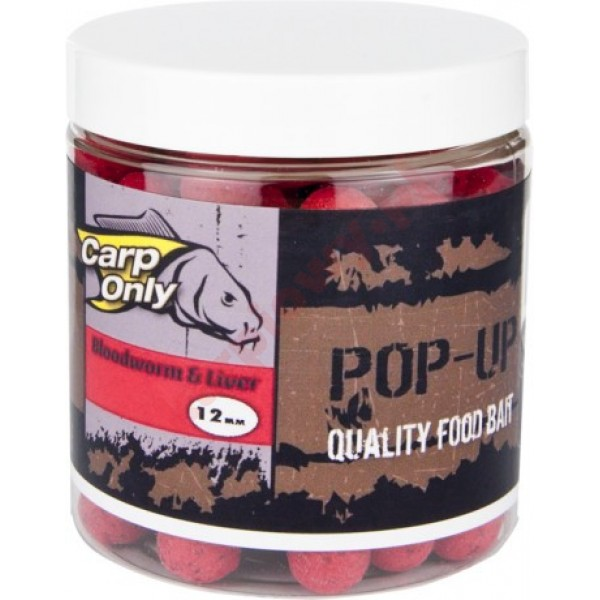 Kulki POP UP  BLOODWORM & LIVER16mm 100g