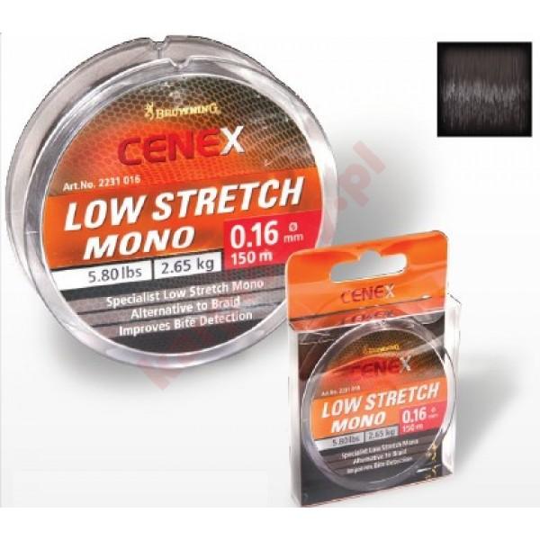 Żyłka cenex low stretch 0,22mm 150m