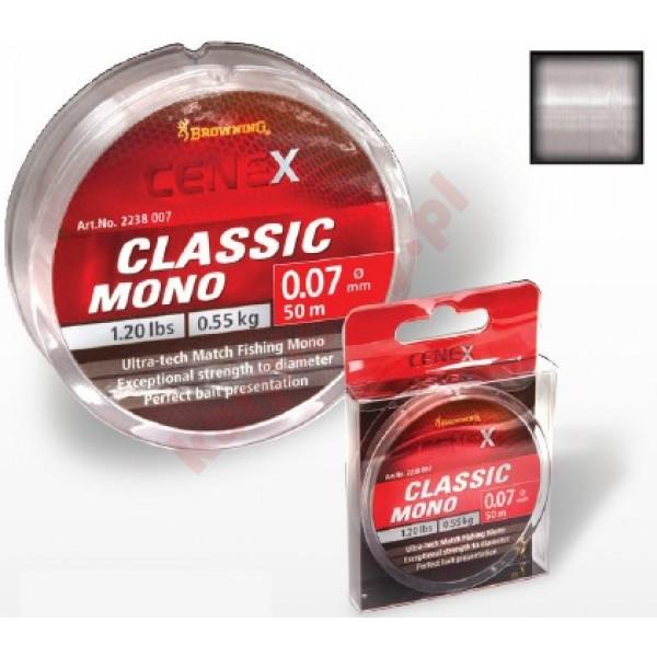 Żyłka cenex classic 0,10mm 100m