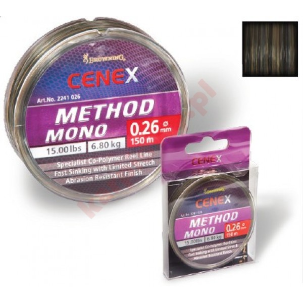 Żyłka cenex method 0,22mm 150m
