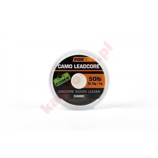 Plecionka - Camo Leadcore Woven Leader 50lb x7m