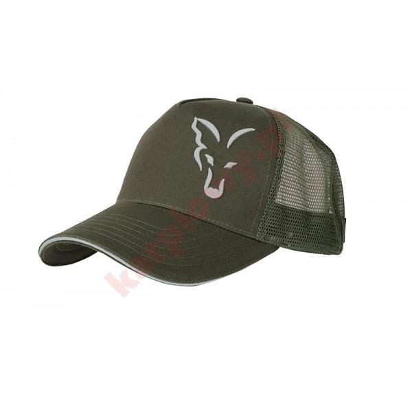Czapka -  green / silver trucker cap