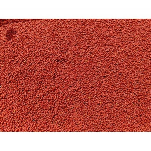 Pellet OCHOTKA 12mm z otworem czerwony