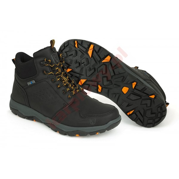 Buty - Collection Black & Orange Mid Boots 7UK/41EU