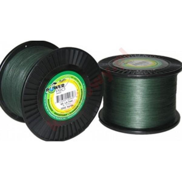 Plecionka 0,19mm 1370m 13kg/29lb Moss Green