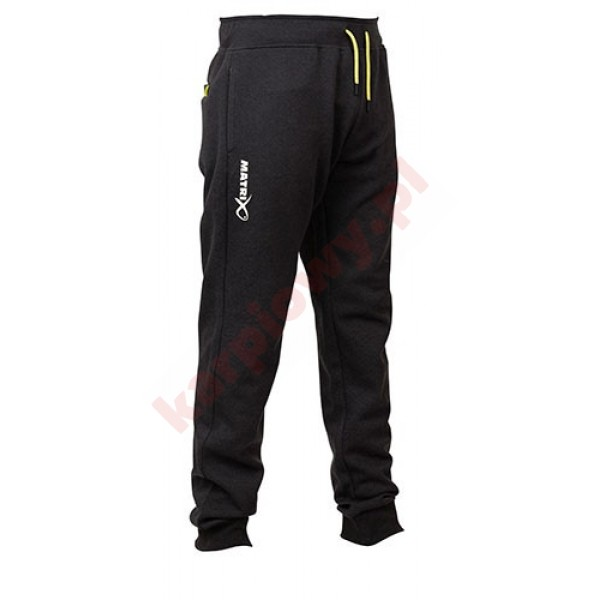 Spodnie - Minimal Black Marl Joggers S