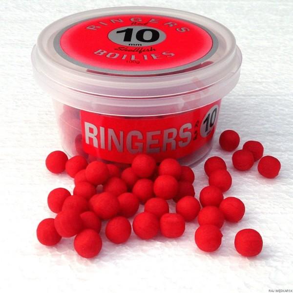 Kulki red shellfish boiles 10mm