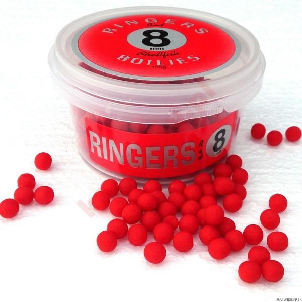 Kulki red shellfish boiles 8mm