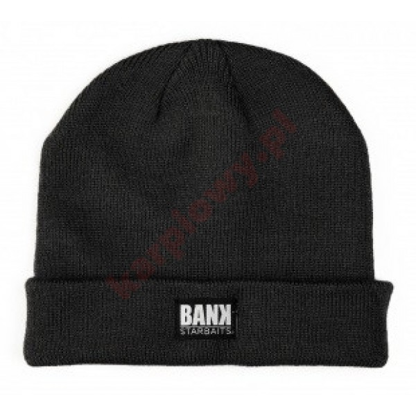 Czapka BANK TRADITION BEANIE - BLACK