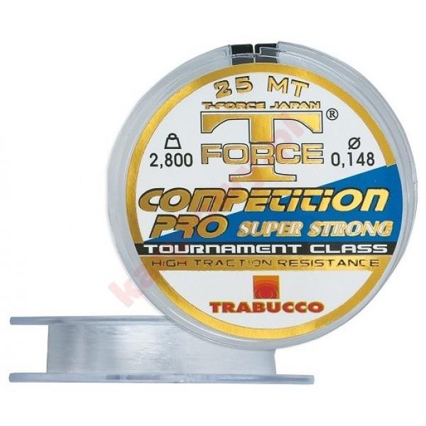 Żyłk trabucco t-force competition pro 0,148mm 25m