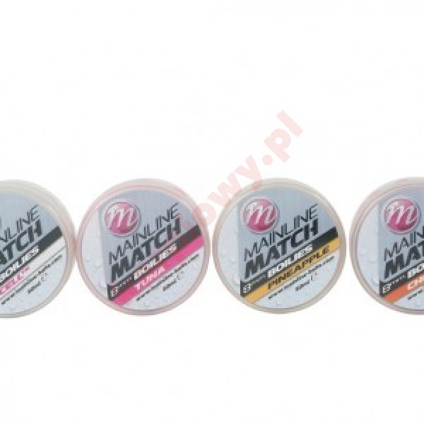 Match Boilies 8mm - Pink - Tuna