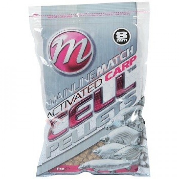 Match Carp CellTM Pellets 6mm - 1kg