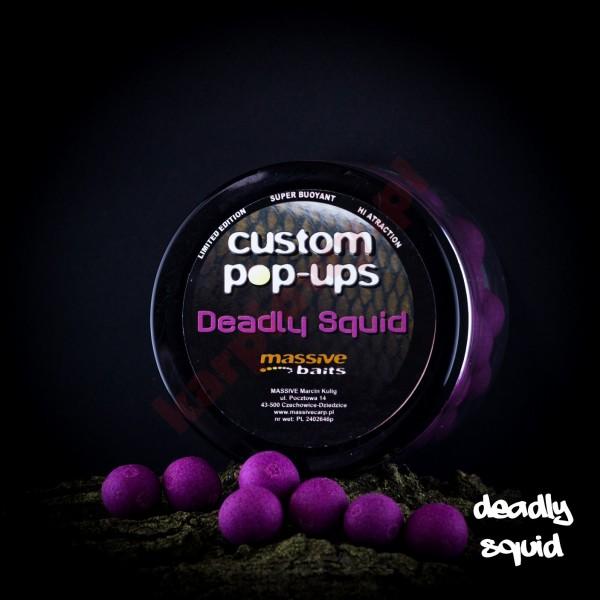 Kulki custom made pop-ups - deadly squid 14mm/200ml