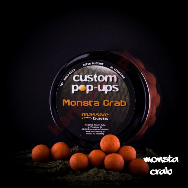 Kulki custom made pop-ups - MONSTA CRAB 14mm/200ml
