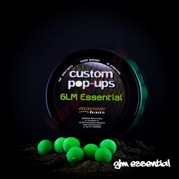 Kulki custom made pop-ups - GLM ESSENTIAL 14mm/200ml