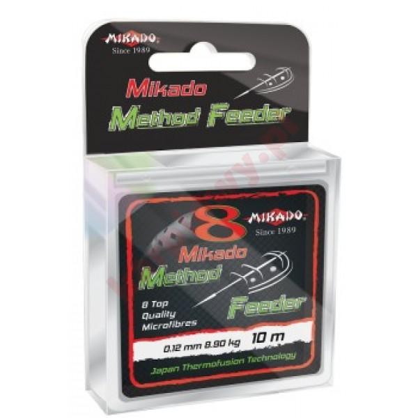 Plecionka octa method feeder 0.10mm/10m black