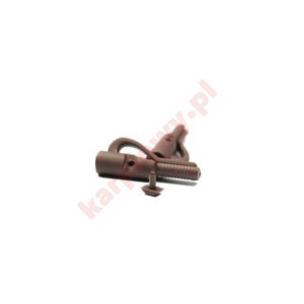 Bezpieczny klips z bolcem brązowy