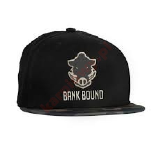 Czapka bank bound flat bill cap black/camo