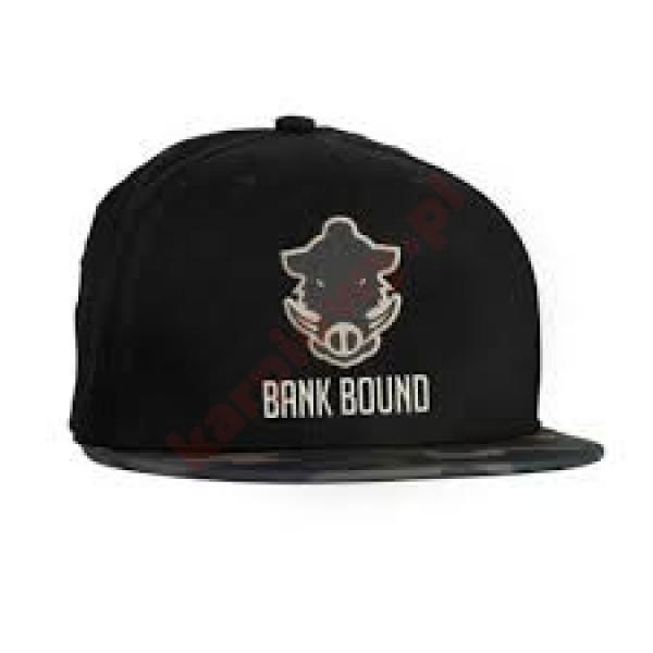 Czapka - bank bound flat bill cap black/camo