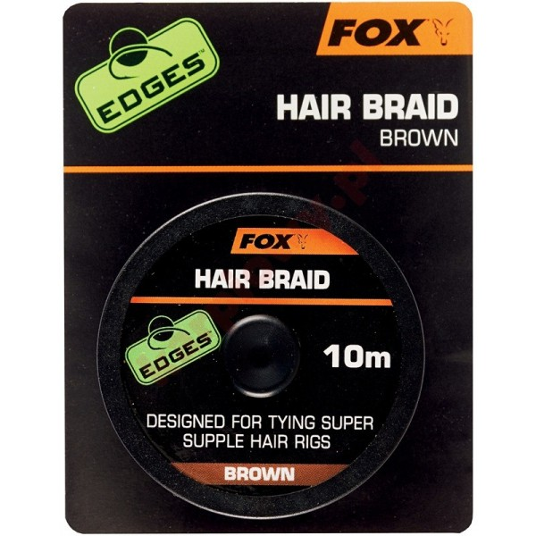 Edges Hair Braid Brown 10m