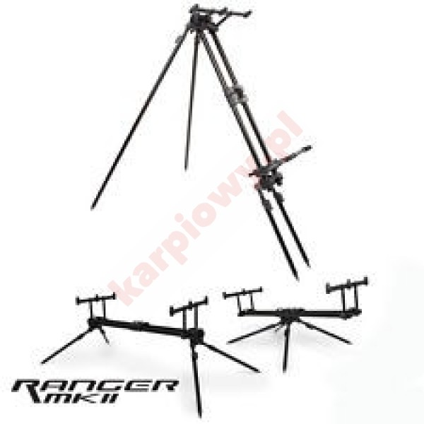 Ranger MK2 Pod 3 rod inc case