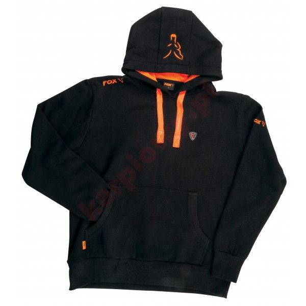 Black Orange Hoodie XLARGE