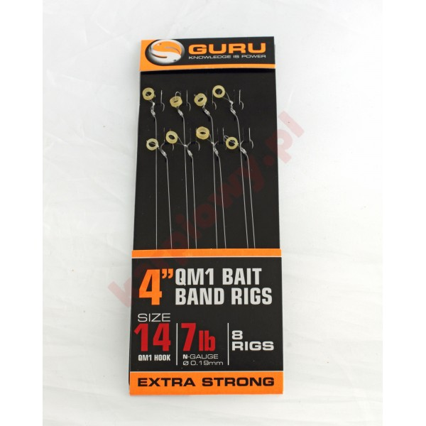 Gotowe przypony - bait bands QM1 ready rig 4'' (0,22/size 12)
