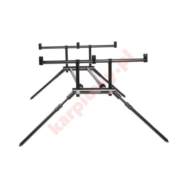 Alu Twin Back Bone Rod Pod -3 Rods