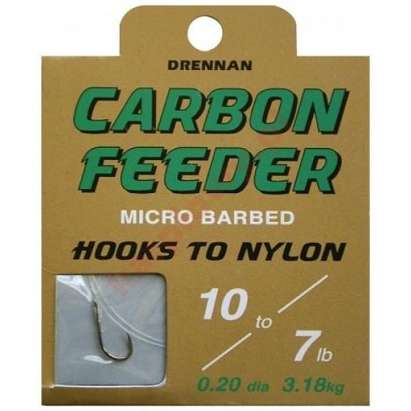 Gotowe przypony carbon feeder 10/0.20mm