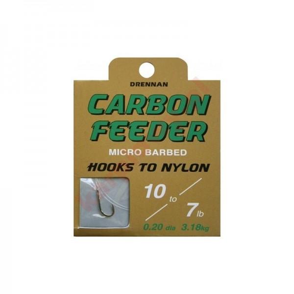 Gotowe przypony carbon feeder 14/0.16mm